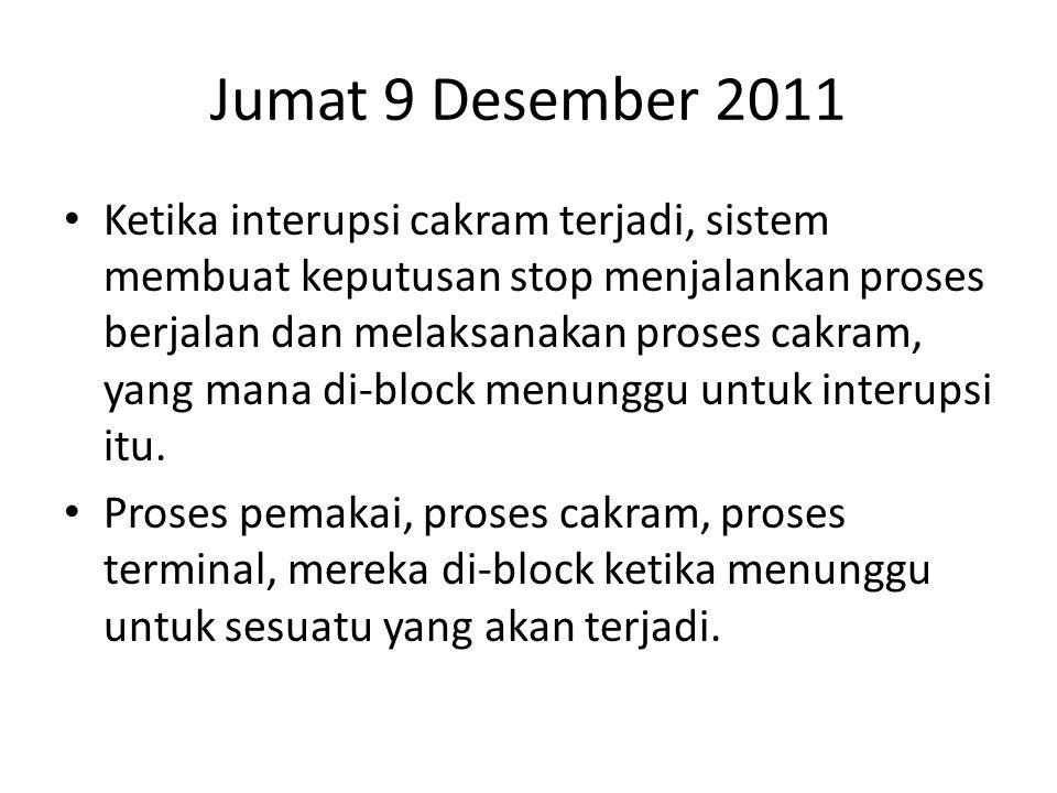 Jumat 9 Desember 2011