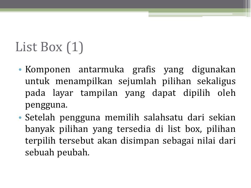 List Box (1)
