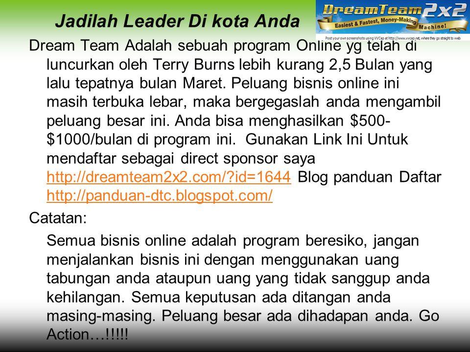 Jadilah Leader Di kota Anda