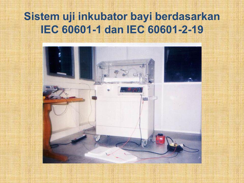 Sistem uji inkubator bayi berdasarkan IEC 60601-1 dan IEC 60601-2-19