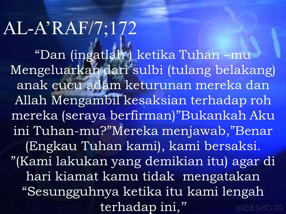 AL-A'RAF/7;172