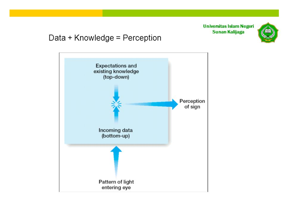 Data + Knowledge = Perception