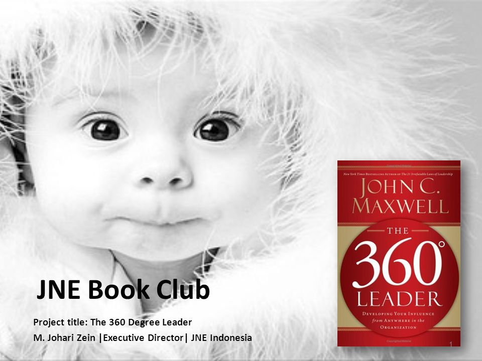 JNE Book Club Project title: The 360 Degree Leader