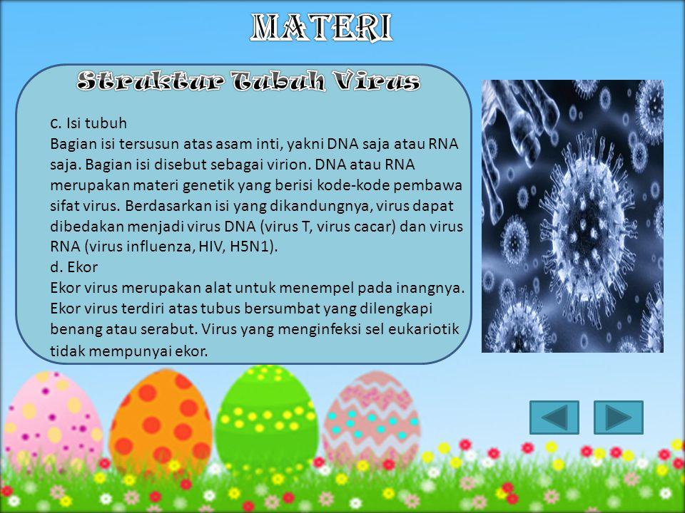 MATERI Struktur Tubuh Virus