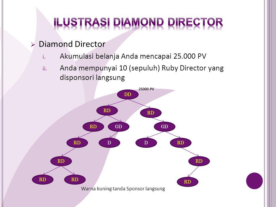 Ilustrasi Diamond director