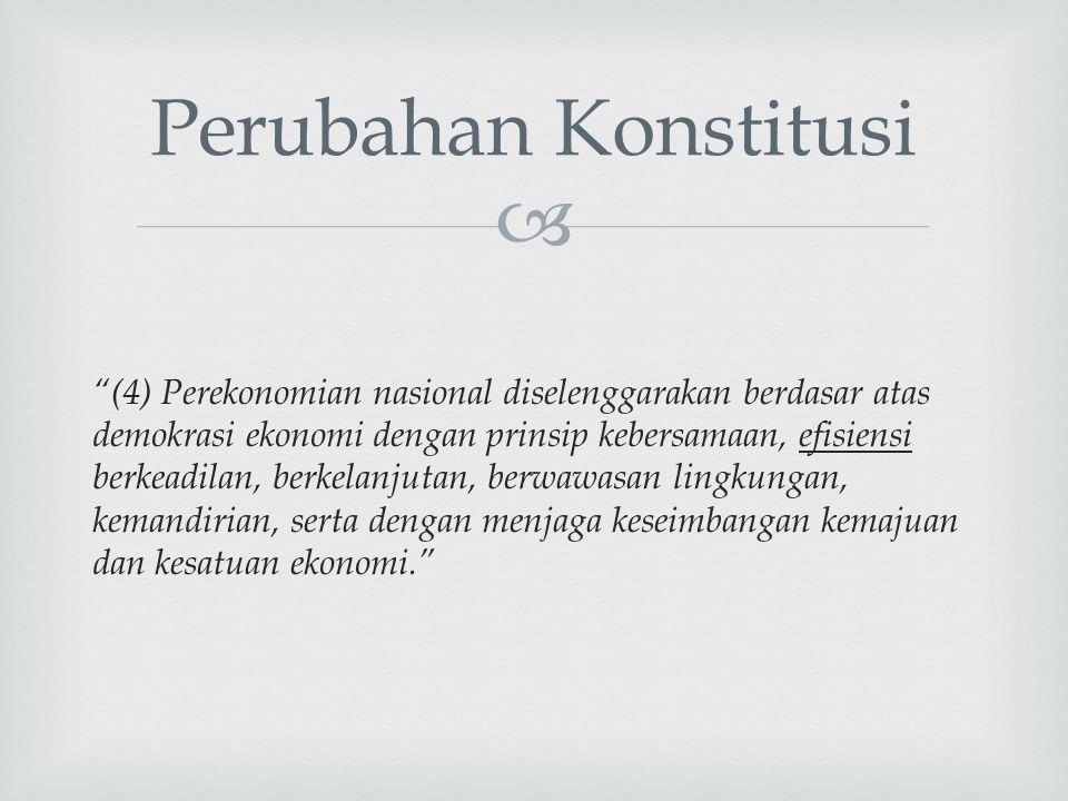 Perubahan Konstitusi