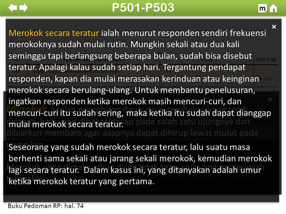 P501-P503 m. 100%