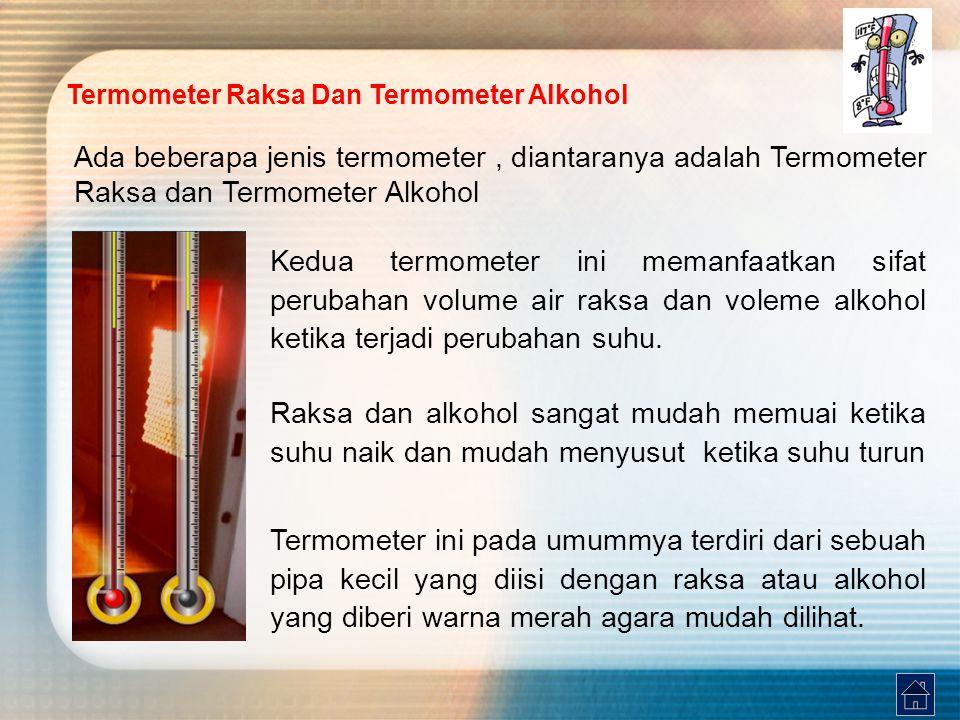 Termometer Raksa Dan Termometer Alkohol