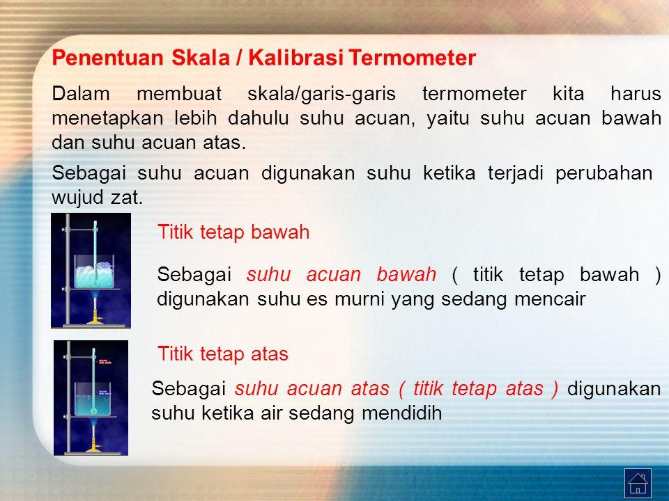 Penentuan Skala / Kalibrasi Termometer