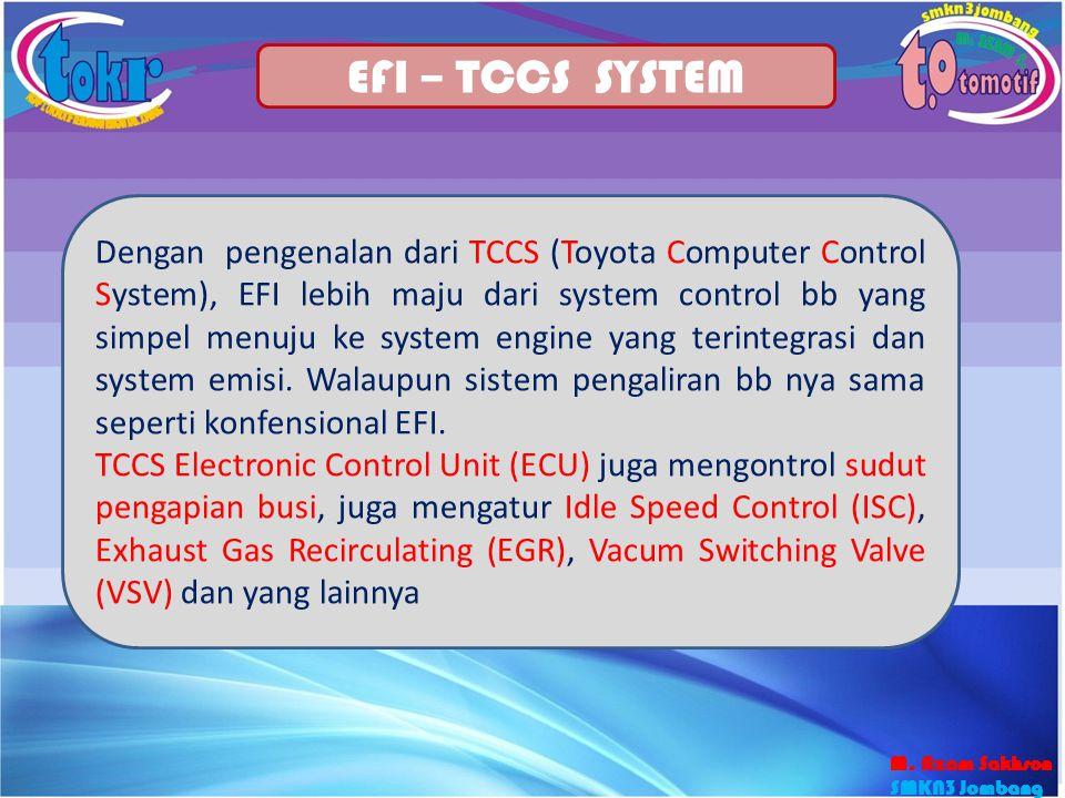 EFI – TCCS SYSTEM