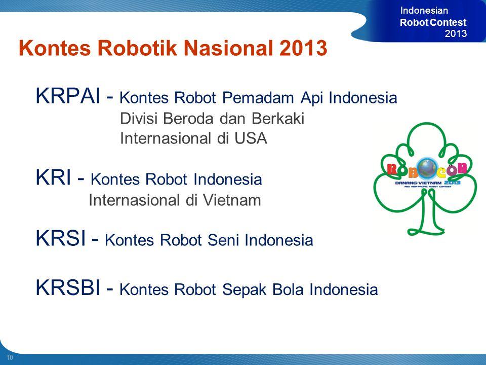 Kontes Robotik Nasional 2013