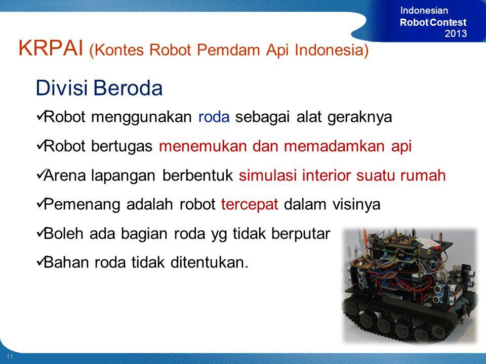 KRPAI (Kontes Robot Pemdam Api Indonesia)