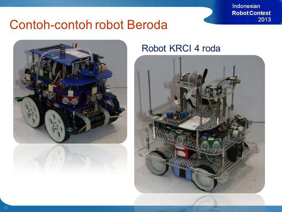 Contoh-contoh robot Beroda