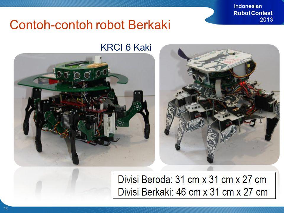 Contoh-contoh robot Berkaki