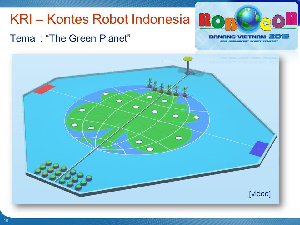 KRI – Kontes Robot Indonesia