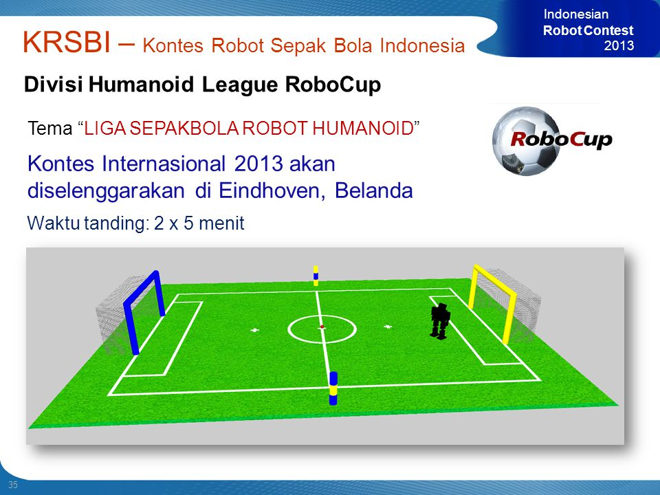 Divisi Humanoid League RoboCup