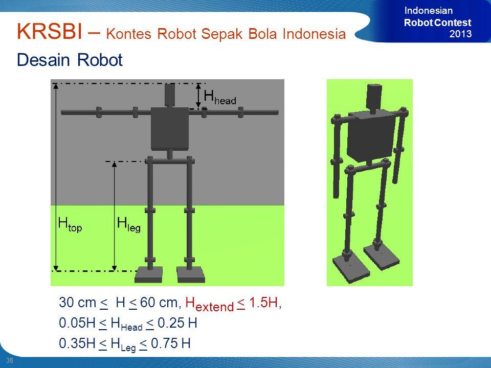 KRSBI – Kontes Robot Sepak Bola Indonesia