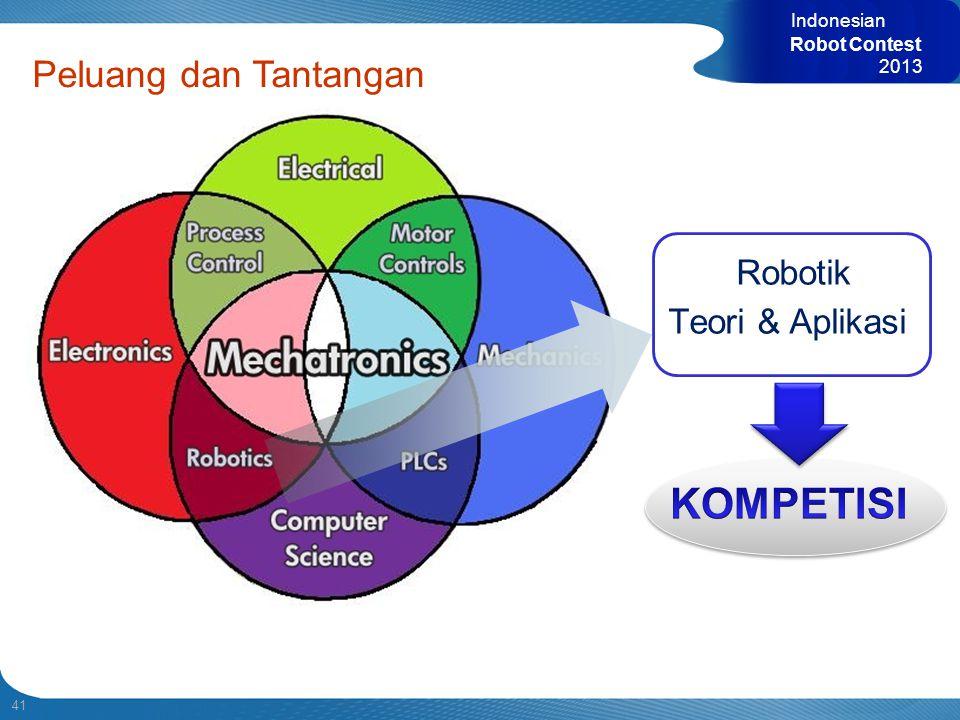 KOMPETISI Peluang dan Tantangan Robotik Teori & Aplikasi Indonesian