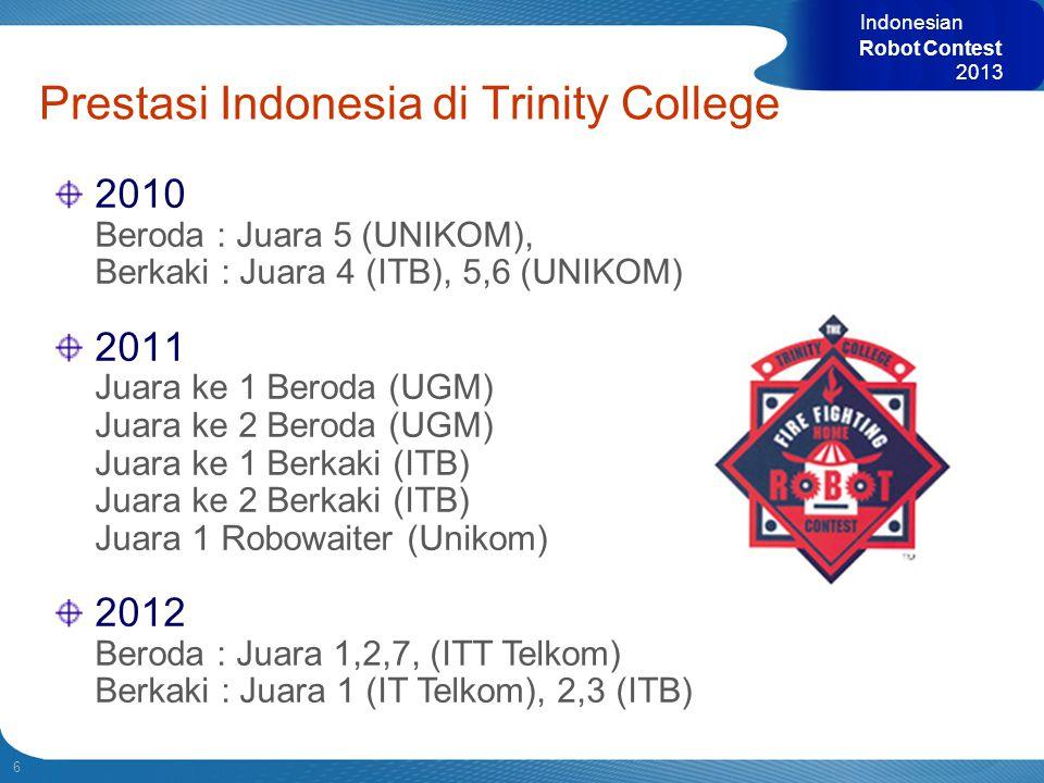 Prestasi Indonesia di Trinity College