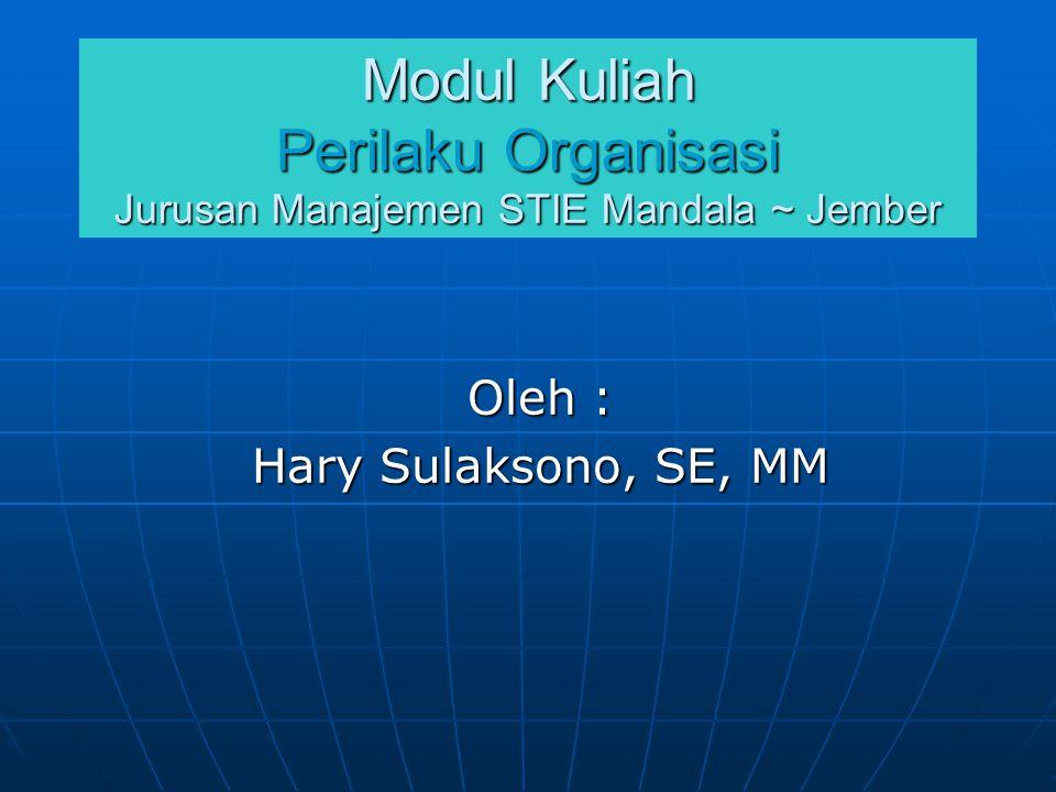Oleh : Hary Sulaksono, SE, MM