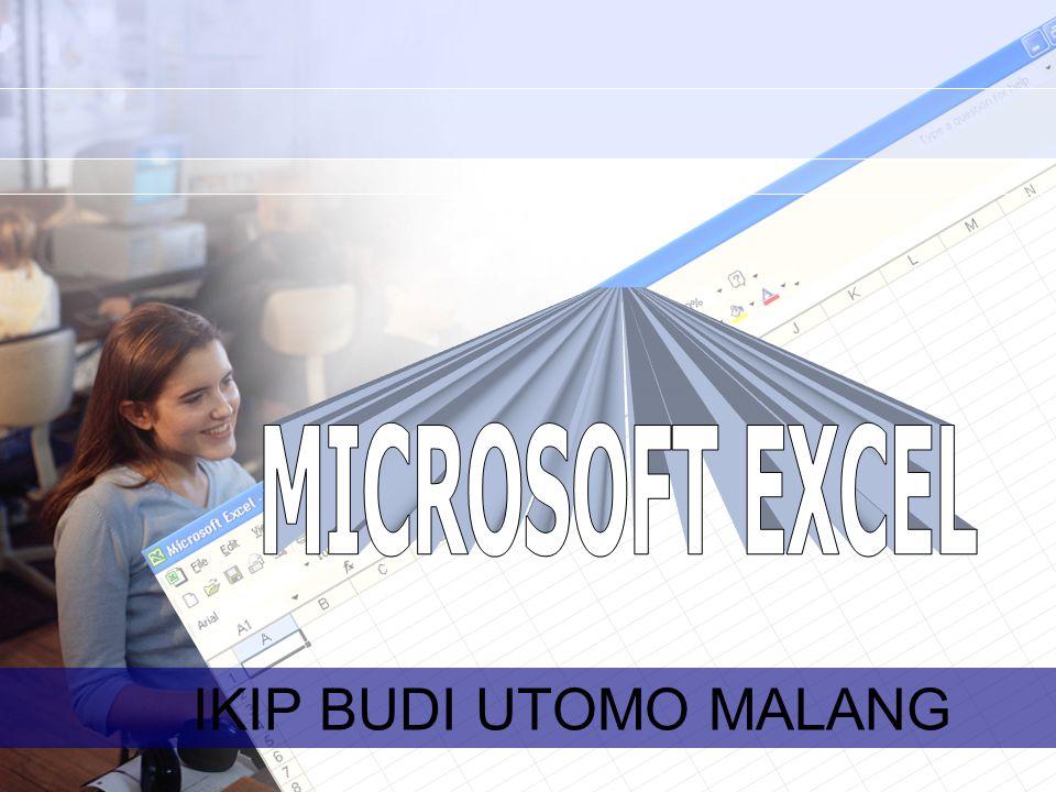 MICROSOFT EXCEL IKIP BUDI UTOMO MALANG