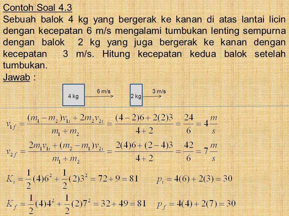 Contoh Soal 4.3