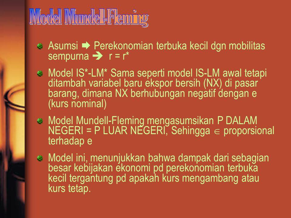 Model Mundell-Fleming