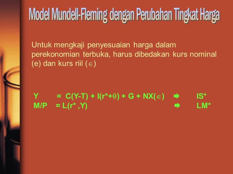 Model Mundell-Fleming dengan Perubahan Tingkat Harga