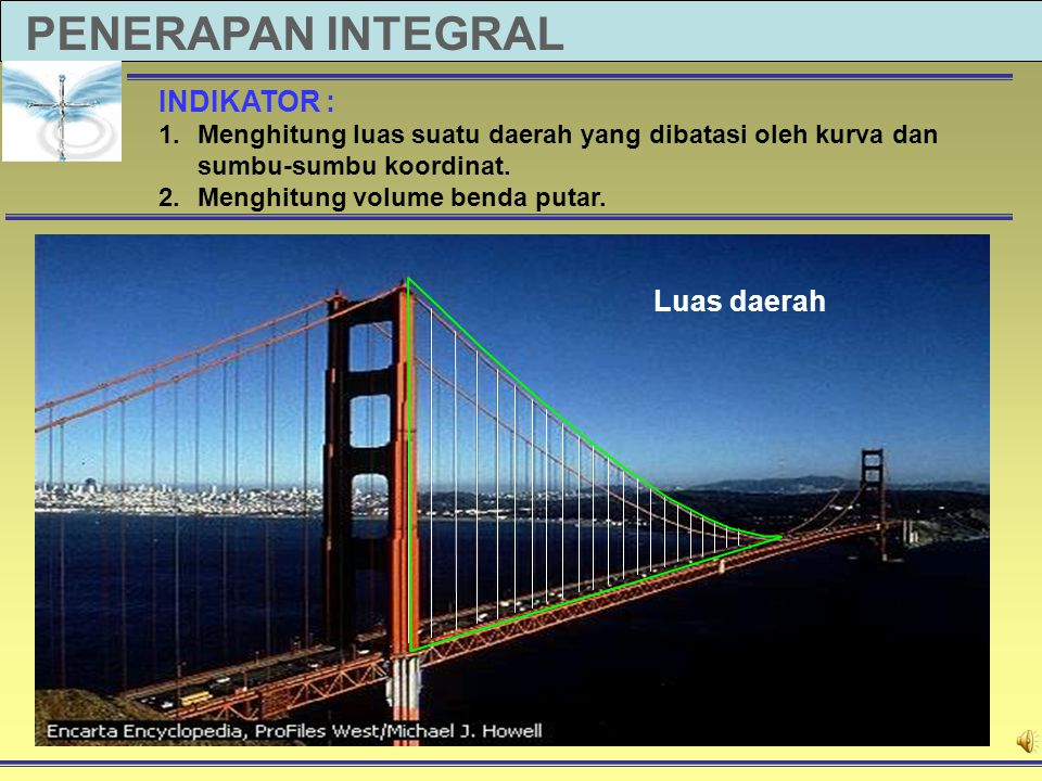 PENERAPAN INTEGRAL INDIKATOR : Luas daerah