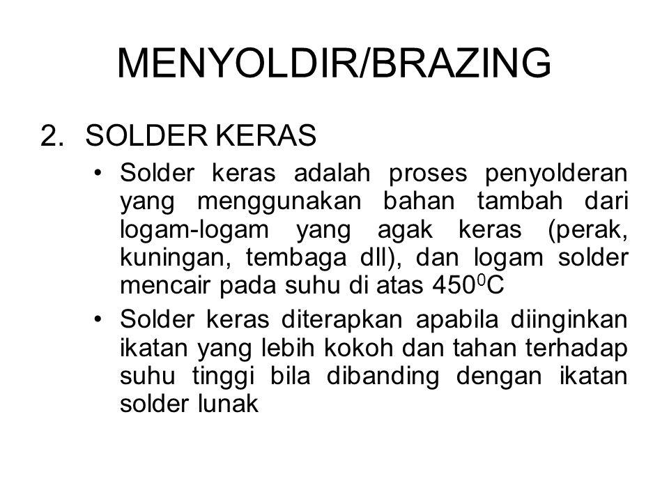 MENYOLDIR/BRAZING SOLDER KERAS