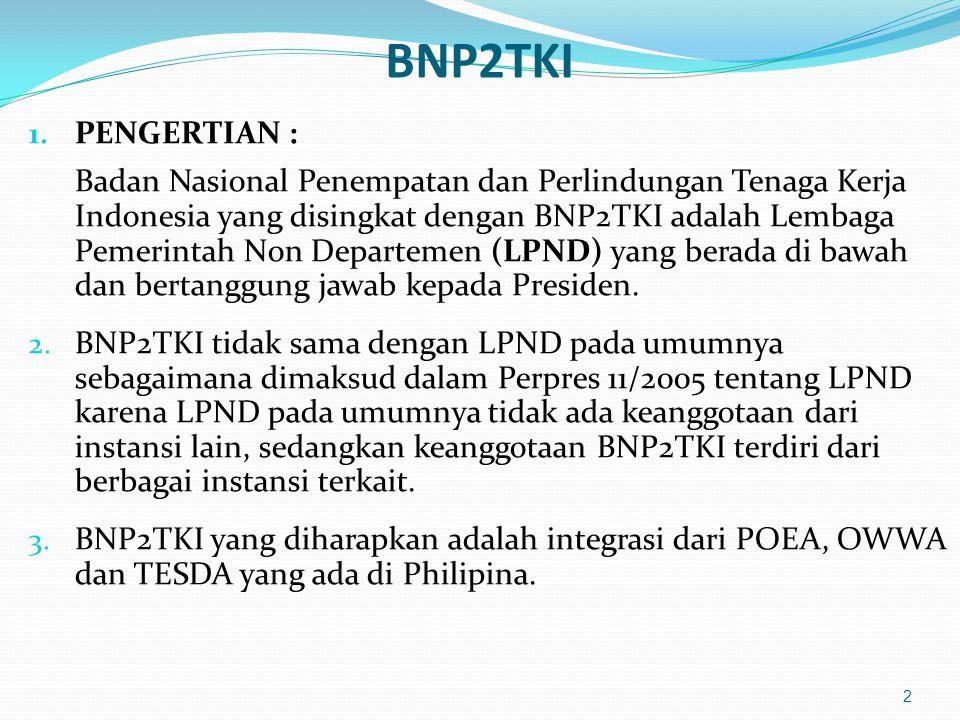 BNP2TKI PENGERTIAN :