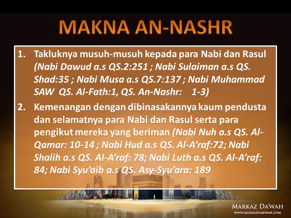 MAKNA AN-NASHR