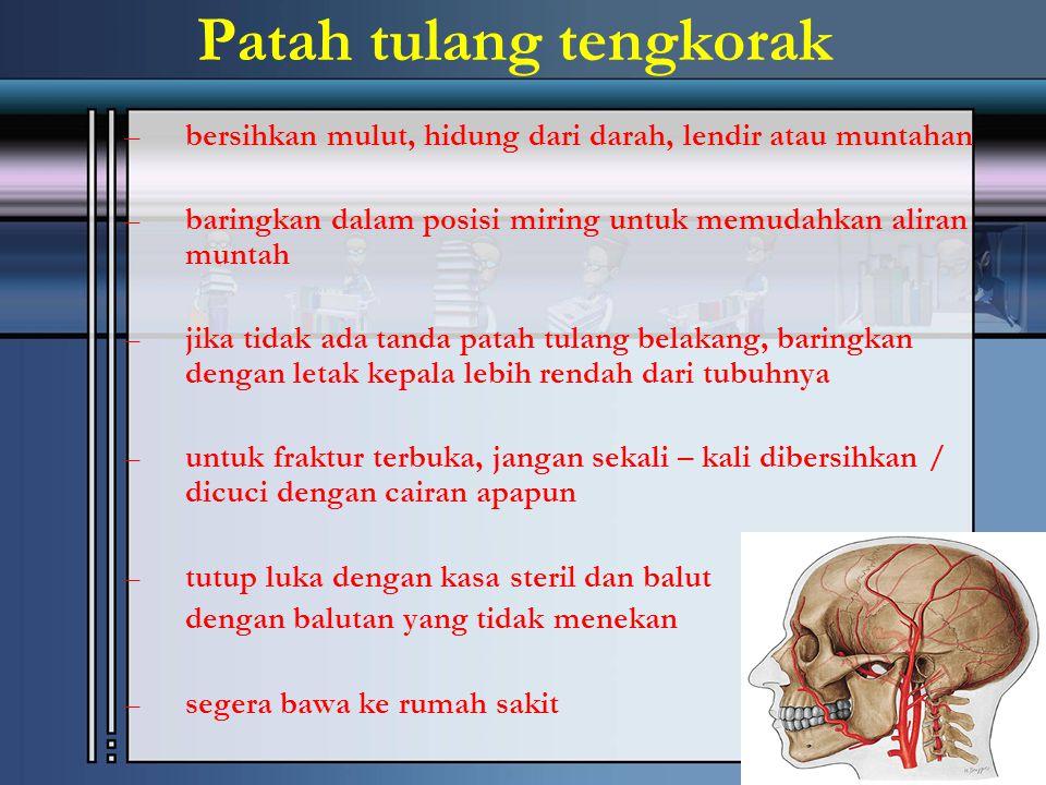 Patah tulang tengkorak