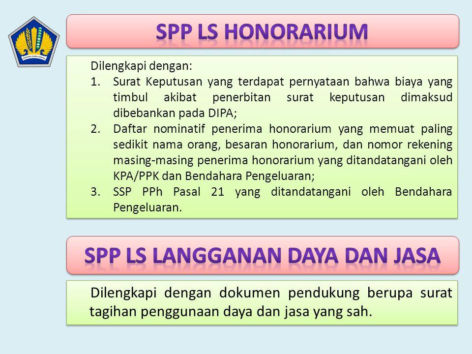 SPP LS Langganan Daya dan Jasa