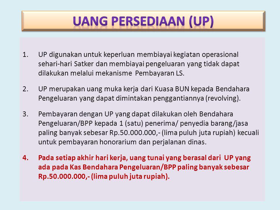 UANG PERSEDIAAN (UP)