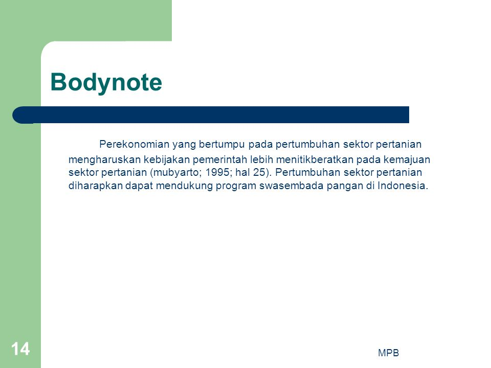 Bodynote