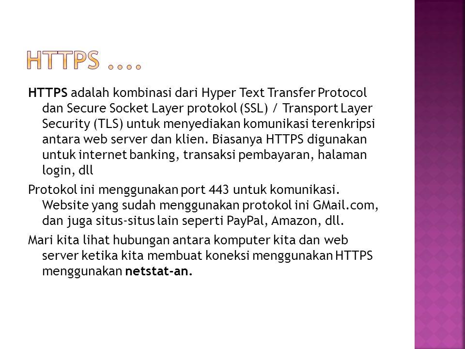 HTTPS ....