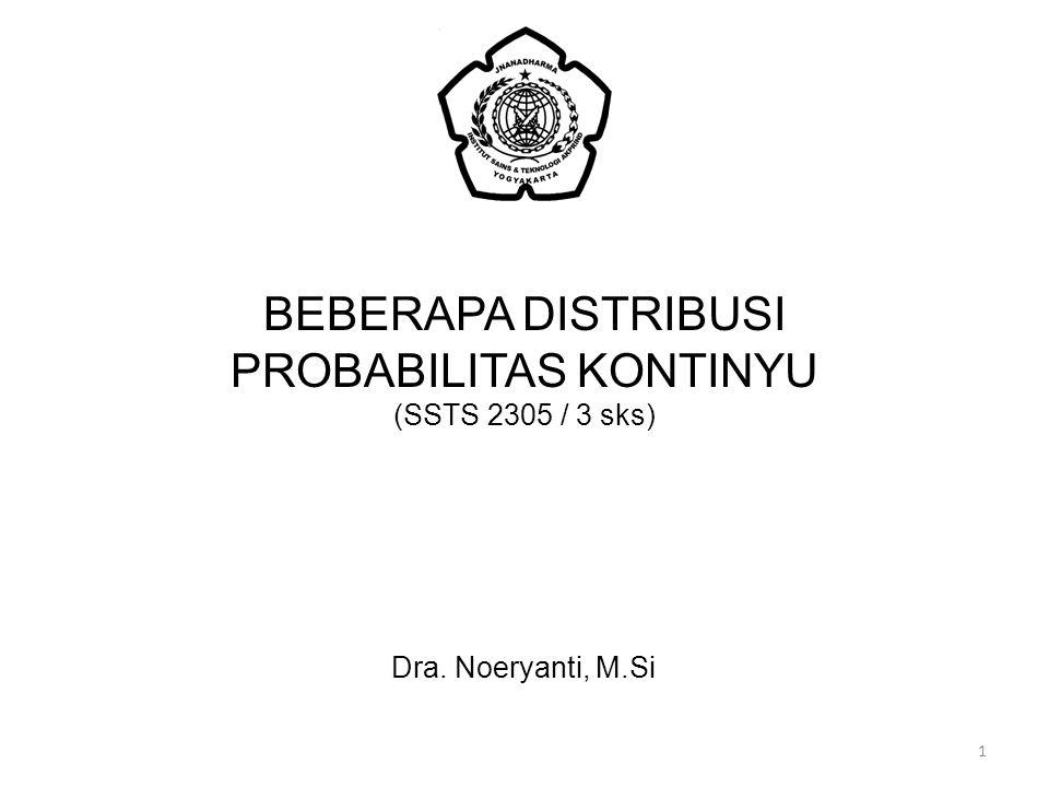 PROBABILITAS KONTINYU