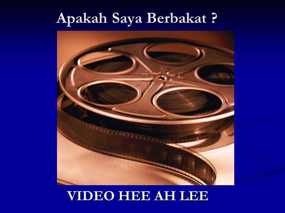 Apakah Saya Berbakat VIDEO HEE AH LEE 29
