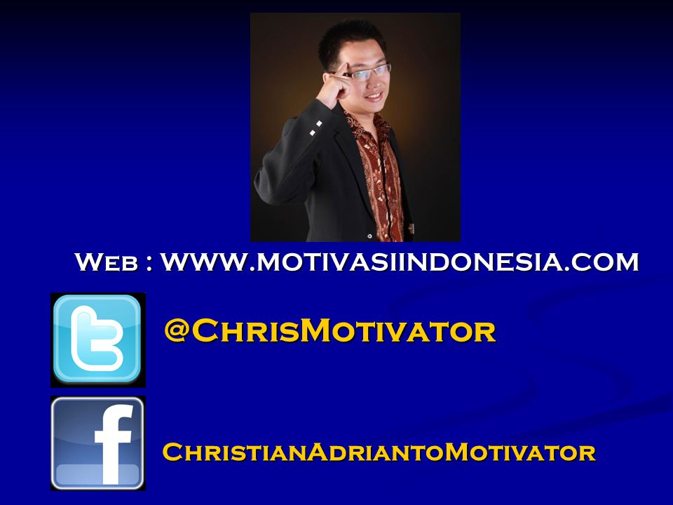 ChristianAdriantoMotivator