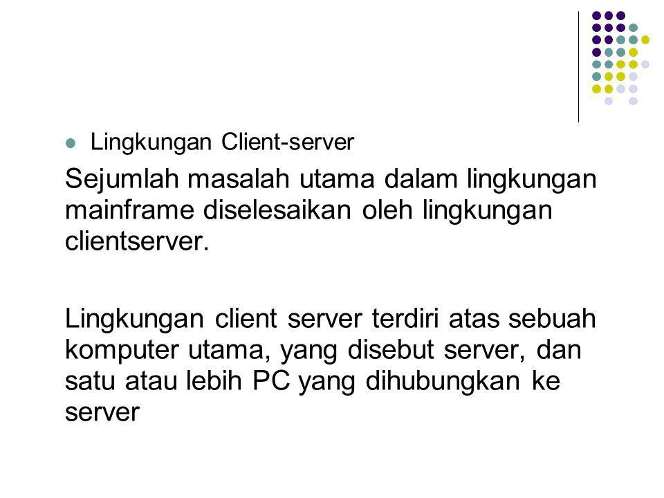 Lingkungan Client-server