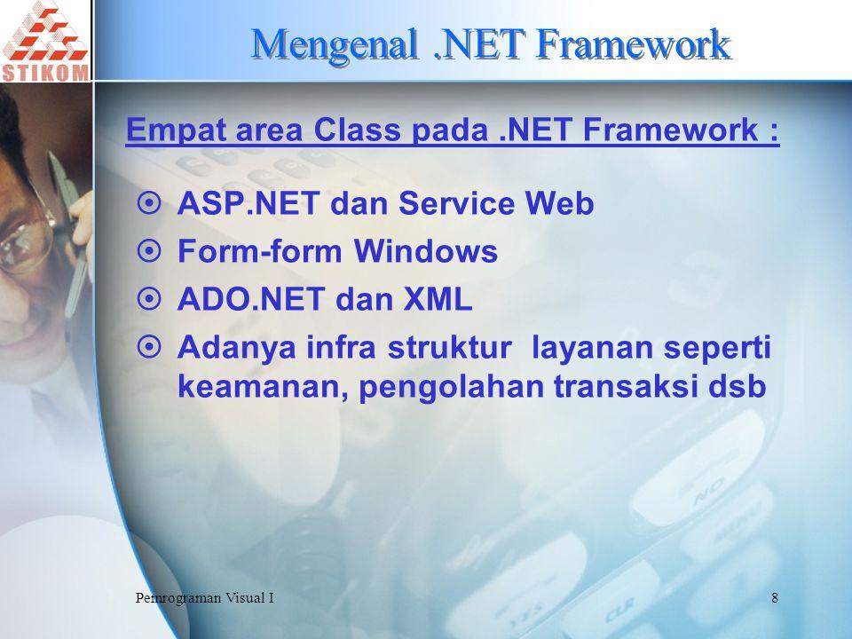 Mengenal .NET Framework