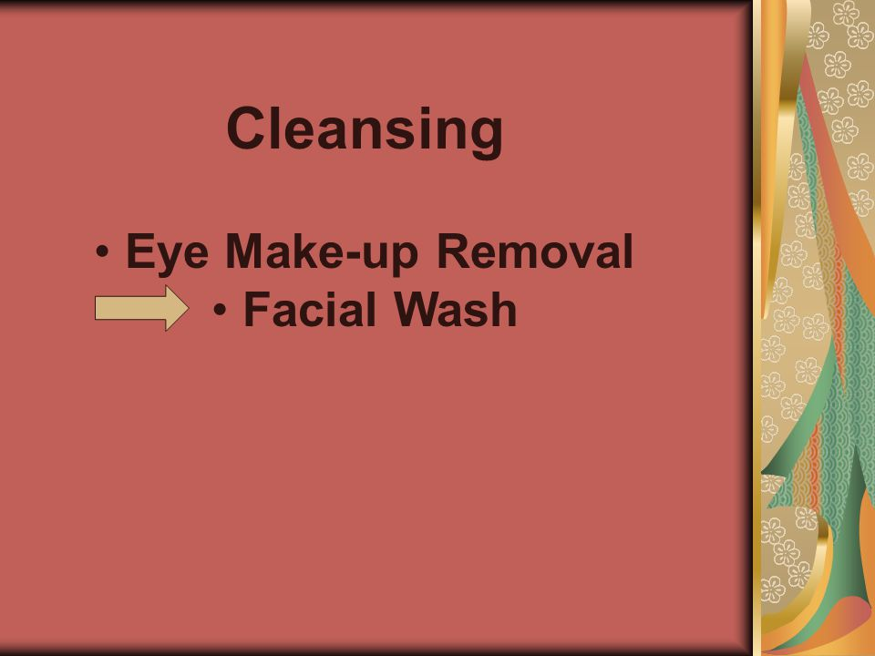 Cleansing Eye Make-up Removal Facial Wash