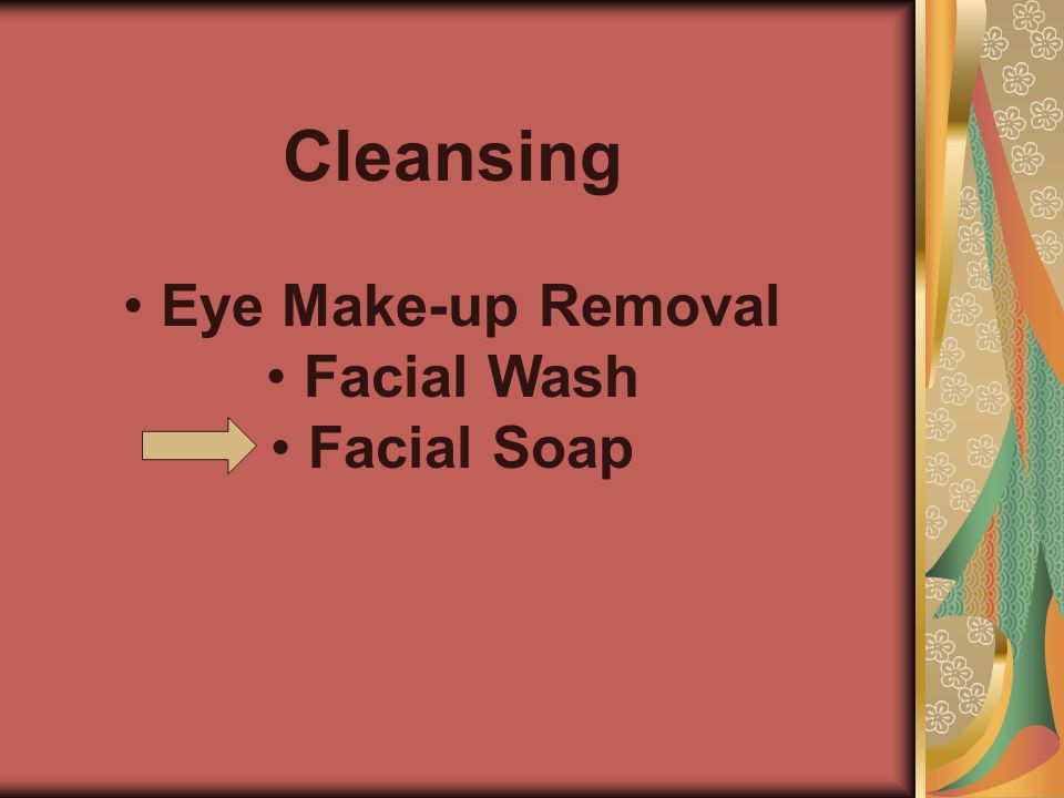 Cleansing Eye Make-up Removal Facial Wash Facial Soap