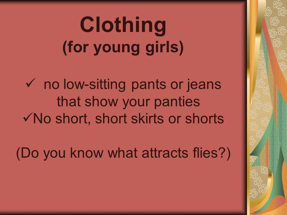 Clothing (for young girls)
