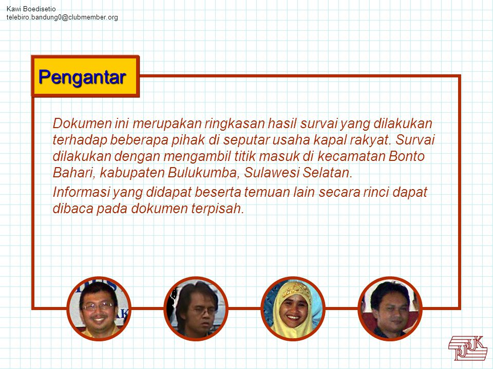 Kawi Boedisetio telebiro.bandung0@clubmember.org. Pengantar.