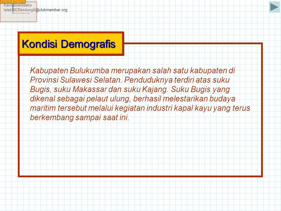 Kawi Boedisetio telebiro.bandung0@clubmember.org. Kondisi Demografis.