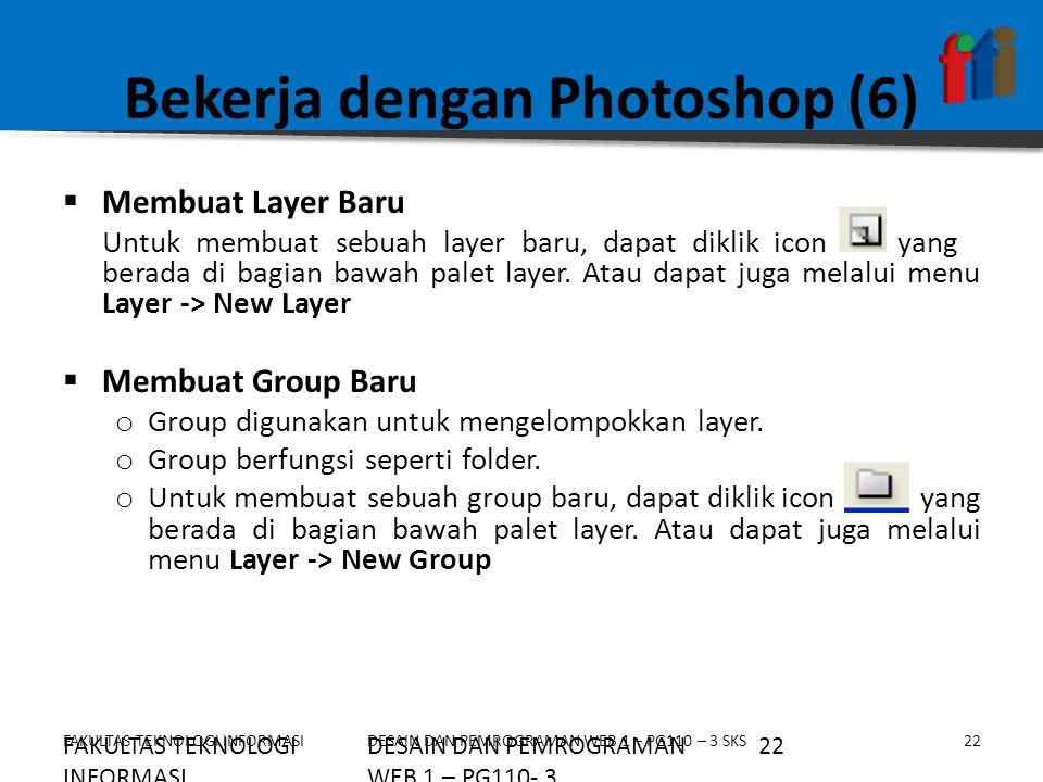 Bekerja dengan Photoshop (6)
