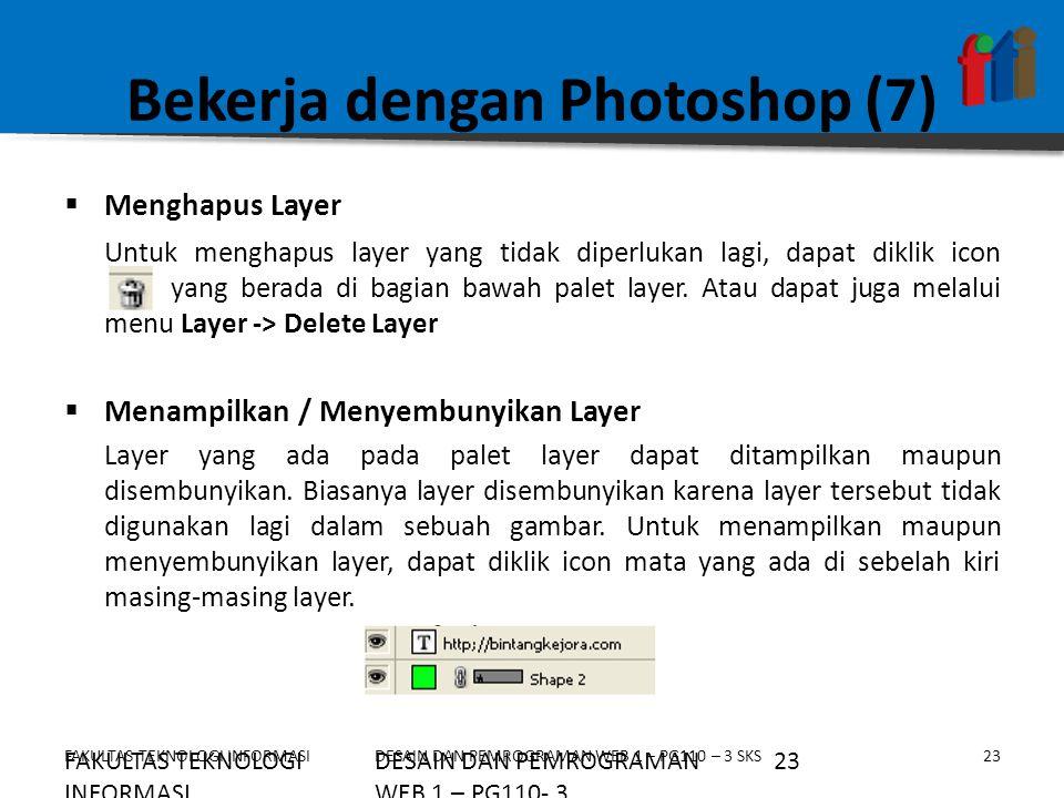 Bekerja dengan Photoshop (7)
