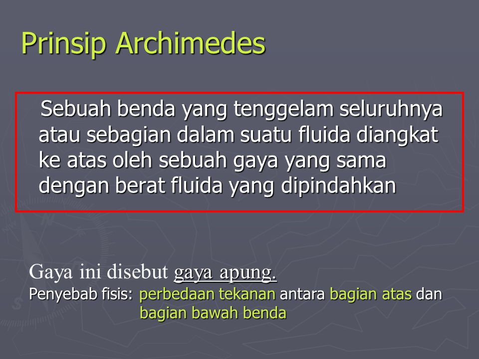 Prinsip Archimedes